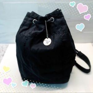 Esprit Embroidered Bucket Shoulder Bag
